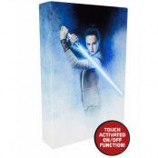 Star Wars VIII Rey Luminart - Canvasbild med Ljus 20x30 cm