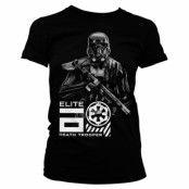 Elite Death Trooper Girly Tee, Girly Tee