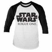 Rogue One Logo Baseball Tee, Baseball Long Sleeve Tee