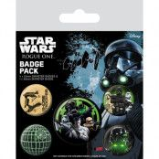 Star Wars Rogue One Badges 5-pack the Empire