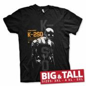 Star Wars Rouge One K-2SO Big & Tall T-Shirt, Big & Tall T-Shirt