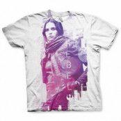 Star Wars Rouge One Rebel T-Shirt-Medium
