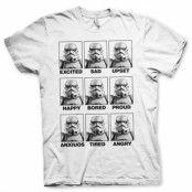 BlackFriday-Moods Of A Stormtrooper T-Shirt, Basic Tee