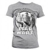 Star Wars - Stormtrooper Girly Tee, Girly T-Shirt