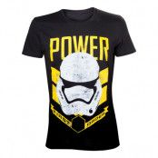 Star Wars Stormtrooper Power T-shirt - Medium
