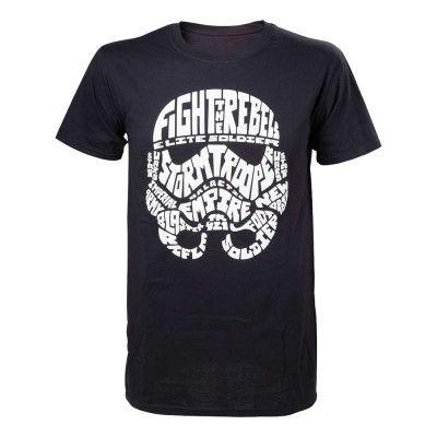 Star Wars Stormtrooper Word Play T-shirt - Medium