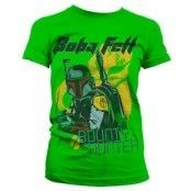Bob Fett - Bounty Hunter Girly T-Shirt, Girly T-Shirt