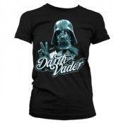 Cool Vader Girly T-Shirt, Girly T-Shirt