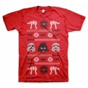 Star Wars AT-AT X-Mas Knit T-Shirt, Basic Tee