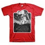 Star Wars Deathstar Poster T-Shirt, Basic Tee
