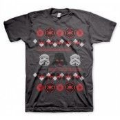 Star Wars Imperials X-Mas Knit T-Shirt, Basic Tee