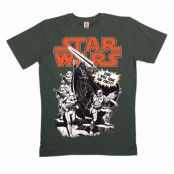 Star Wars T-shirt Eko Luke I Will Come For You, LARGE
