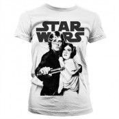 Star Wars Vintage Poster Girly T-Shirt, T-Shirt