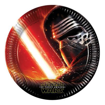 Papperstallrikar Star Wars The Force Awakens - 8-pack