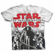 The Force Awakens Allover Tee, Modern Fit Polyester Tee