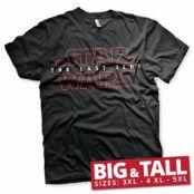 Star Wars - The Last Jedi Logo Black Big & Tall T-Shirt, Big & Tall T-Shirt