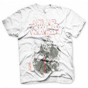 Star Wars - The Last Jedi Snoke Sketch T-Shirt, Basic Tee