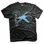 Star Wars The Last Jedi X-Wing T-shirt , SMALL