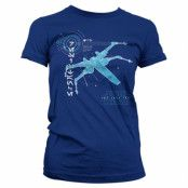 The Last Jedi S-X-378 X-Wing Girly Tee, Girly Tee