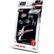 Star Wars - Level 2 Easy-Click Snap Model Kit X-Wing Fighter