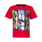 Röd Star Wars T-shirt till Pojke