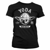 Star Wars Grand Master Yoda Girly T-Shirt