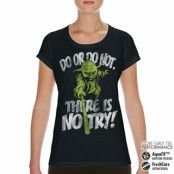 There Is No Try - Yoda Performance Girly Tee, CORE PERFORMANCE GIRLY TEE
