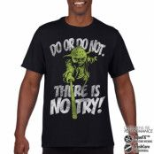 There Is No Try - Yoda Performance Mens Tee, CORE PERFORMANCE MENS TEE